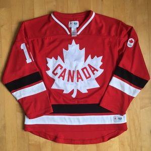 Canada Olympic hockey jersey Hudson's Bay sz 10-12